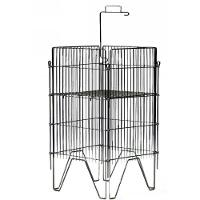 Display Bin  Chrome   18  x 18 C1818
