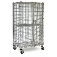 Security Cart  4 Shelf   2 Br 24  x 36 SEC364FMB