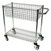 Mail Cart  One Basket MC24 1