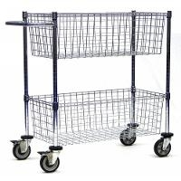 Mail Cart  Two Baskets MC24 2