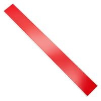 Red 2  x 18  Duct Tape Strips   100Pack DTS 2 18 100 RED