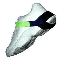 Hi Vis Yellow Heel Grounder Velcro 1Meg HG1390S