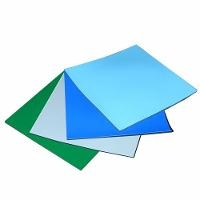 Blue Two Layer Rubber Table Mat  24 x50 MT4524B