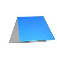 Blue Vinyl Table Mat  Foam Back 4 x50 VMB 4850B