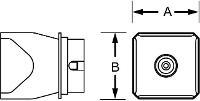 Hotgas Nozzle Nq40 26 0X26 0 T0058736804N