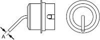 1 5mm x 3mm x 45  Bent Nozzle  NR02 T0058736882N